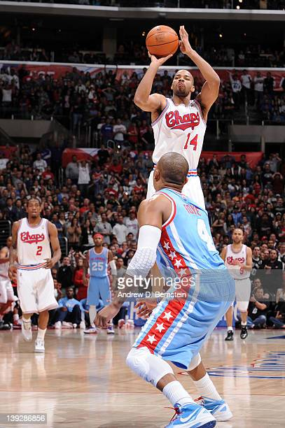 Gary Neal of the San Antonio Spurs shoots a threepoint basket to tie the game in regulation and send the game into overtime against the Los Angeles...