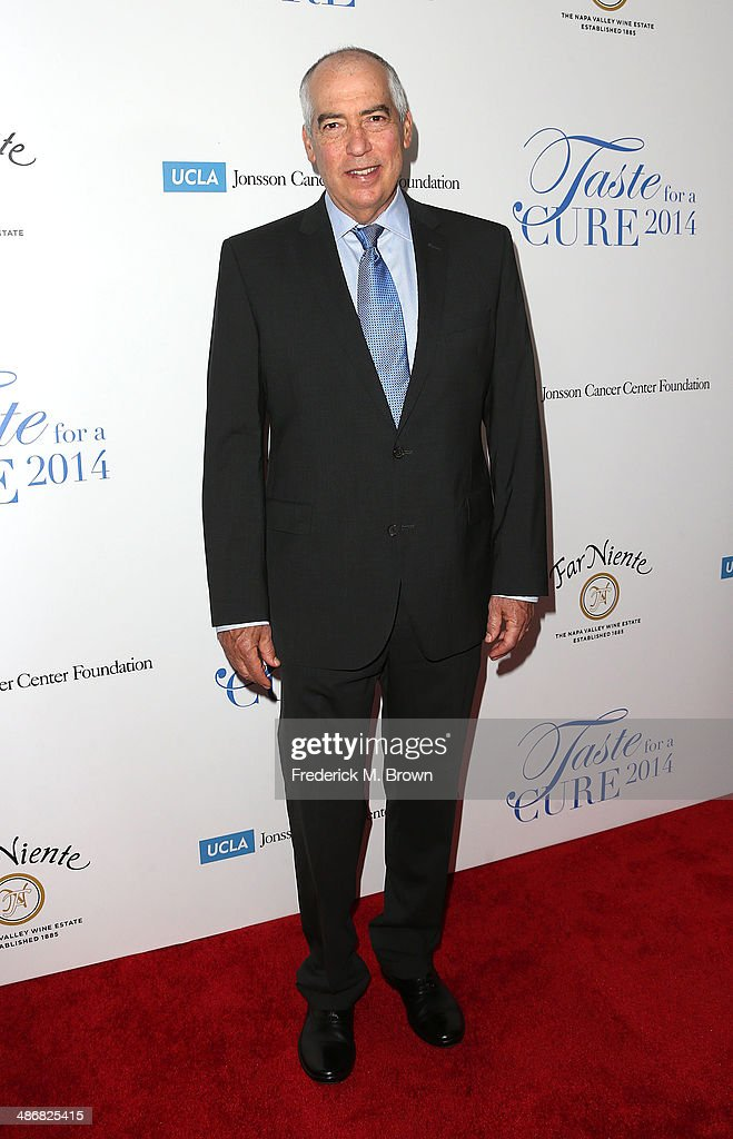 <a gi-track='captionPersonalityLinkClicked' href=/galleries/search?phrase=Gary+Newman&family=editorial&specificpeople=217564 ng-click='$event.stopPropagation()'>Gary Newman</a>, Chairman 20th Century Fox Television, attends the Jonsson Cancer Center Foundation's 19th Annual 'Taste for a Cure' at the Regent Beverly Wilshire Hotel on April 25, 2014 in Beverly Hills, California.