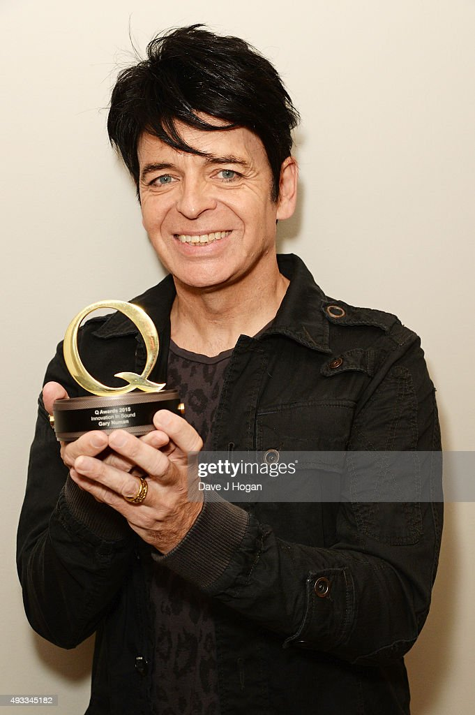 Gary Numan attends the Q Awards at The Grosvenor House Hotel on October 19 2015 in London England