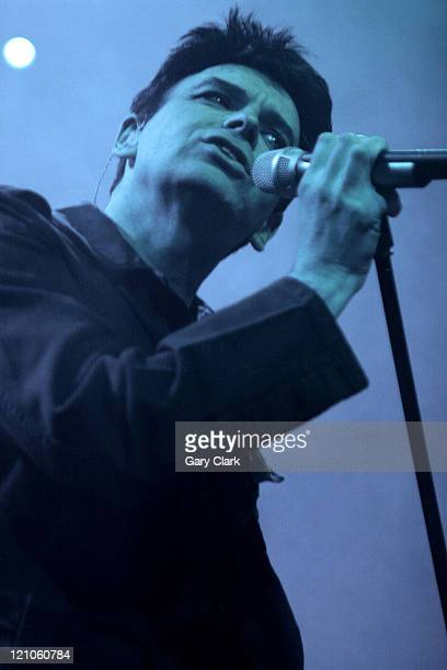 Gary Numan during Gary Numan in Concert at the Forum in London March 18 2006 at The Forum in London Great Britain