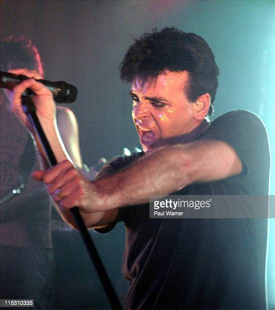 Gary Numan performing 'Jagged' North American Tour on opening night at the Magic Stick in Detroit Michigan