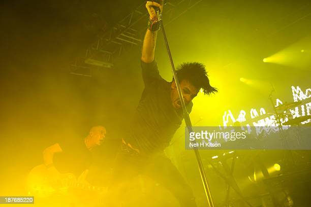 Gary Numan performs at 02 Academy on November 11 2013 in Sheffield England