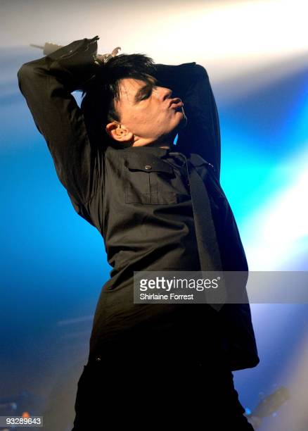 Gary Numan performs at Manchester Academy on November 21 2009 in Manchester England