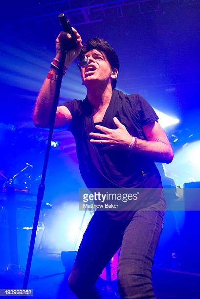 Gary Numan performs at The Forum on October 23 2015 in London England