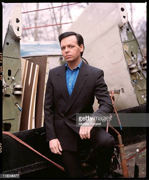 Gary Numan portrait at home England 1988
