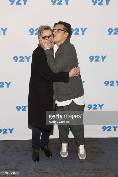 Gary Oldman and Director Joe Wright attend 92nd Street Y Preview Screening of 'Darkest Hour' at 92nd Street Y on November 16 2017 in New York City