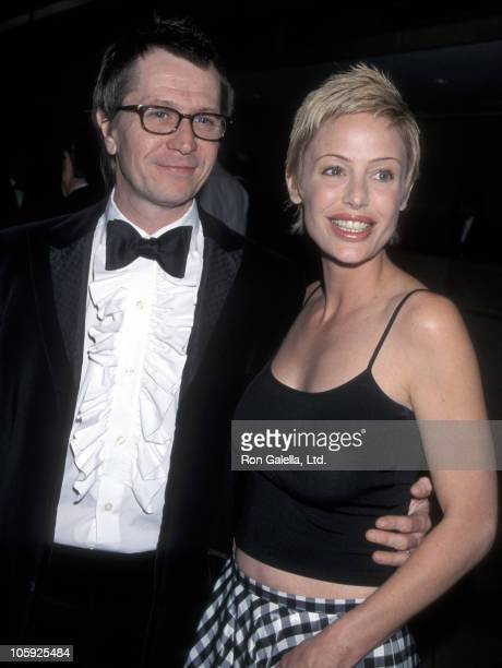Gary Oldman and Donya Oldman during 20th Annual St Jude Gala Dinner at Beverly Hilton Hotel in Beverly Hills California United States