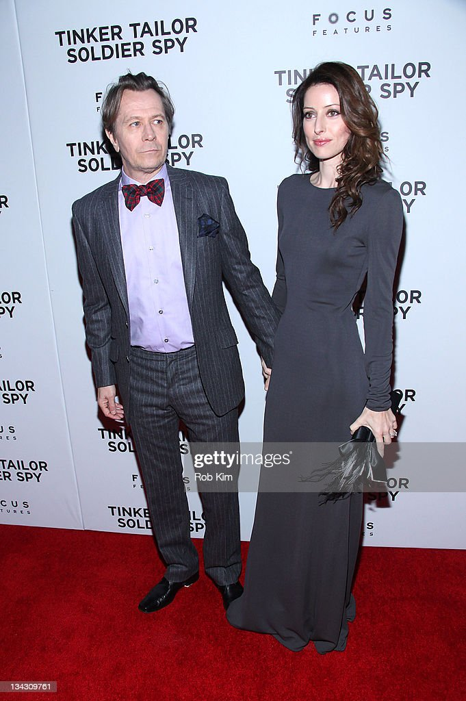 <a gi-track='captionPersonalityLinkClicked' href=/galleries/search?phrase=Gary+Oldman&family=editorial&specificpeople=213839 ng-click='$event.stopPropagation()'>Gary Oldman</a> (L) and wife Alexandra Edenborough attend the premiere of 'Tinker Tailor Soldier Spy' at Landmark Sunshine Theater on November 30, 2011 in New York City.