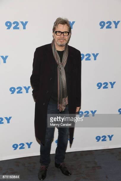 Gary Oldman attends 92nd Street Y Preview Screening of 'Darkest Hour' with Director Joe Wright at 92nd Street Y on November 16 2017 in New York City