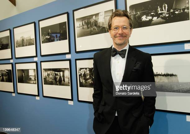 Gary Oldman attends Paul Smith Los Angeles Hosts Gary Oldman And Jack English For Tinker Tailor Soldier Spy Still Photography Exhibit at Paul Smith...