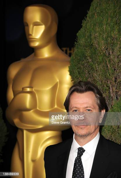 Gary Oldman attends the 84th Annual Academy Awards Nominees Luncheon at The Beverly Hilton hotel on February 6 2012 in Beverly Hills California