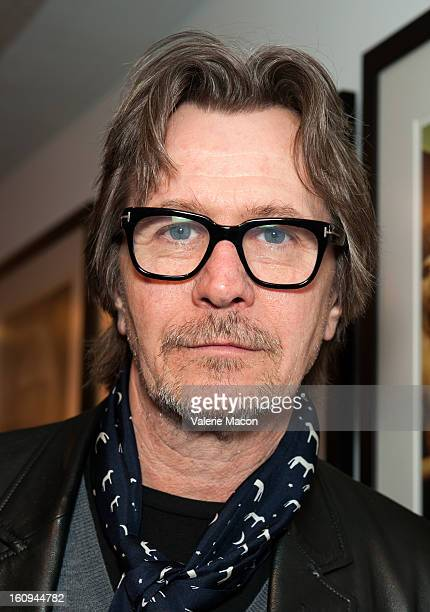 Gary Oldman attends The Morrison Hotel Gallery Opens At The Sunset Marquis In West Hollywood on February 7 2013 in West Hollywood California