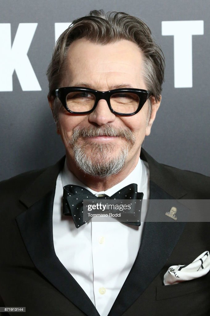 Gary Oldman attends the Premiere Of Focus Features' 'Darkest Hour' at Samuel Goldwyn Theater on November 8, 2017 in Beverly Hills, California.