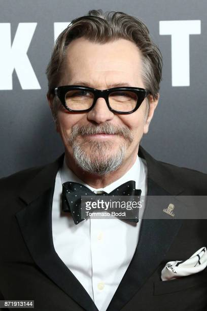 Gary Oldman attends the Premiere Of Focus Features' 'Darkest Hour' at Samuel Goldwyn Theater on November 8 2017 in Beverly Hills California