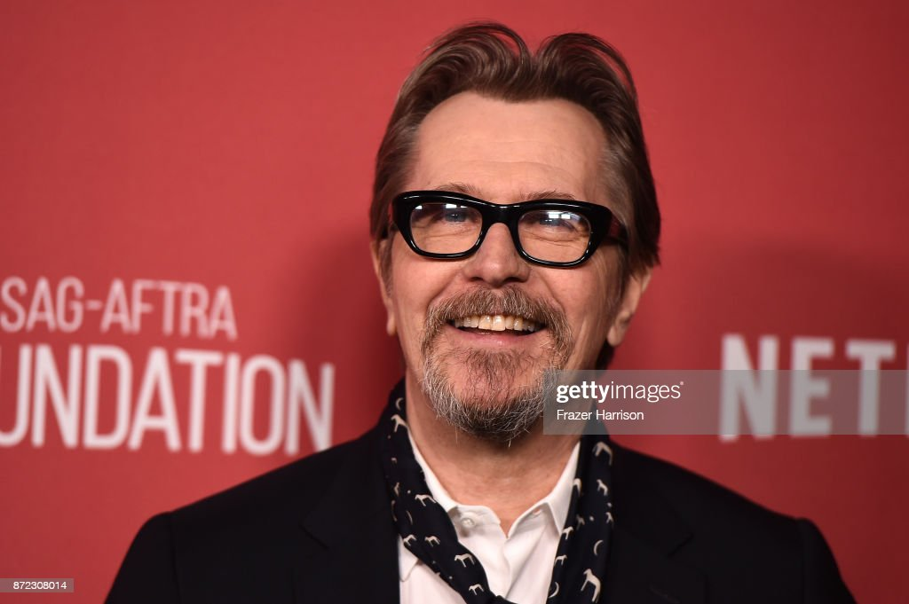 Gary Oldman attends the SAG-AFTRA Foundation Patron of the Artists Awards 2017 at the Wallis Annenberg Center for the Performing Arts on November 9, 2017 in Beverly Hills, California.