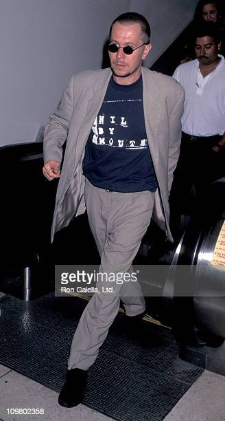 Gary Oldman during Gary Oldman Sighting at Los Angeles International Airport on July 19 1996 at Los Angeles International Airport in Los Angeles...