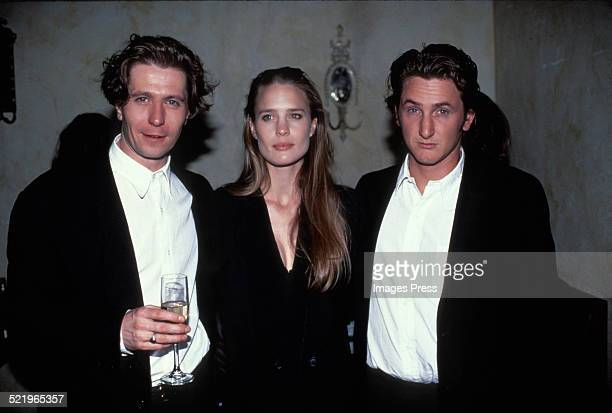 Gary Oldman Robin Wright and Sean Penn circa 1990 in New York City