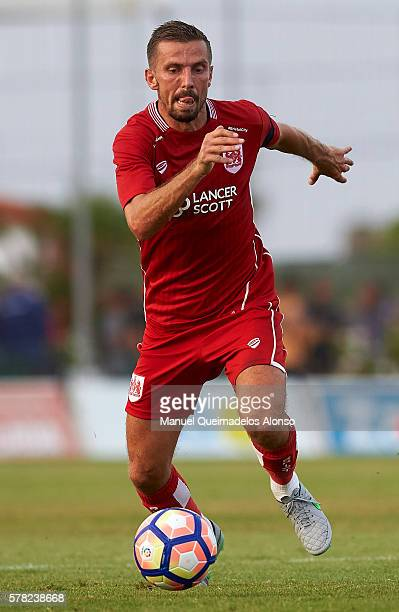 Gary O'Neil of Bristol City runs with the ball during the friendly match between Granada CF and Bristol City at Pinatar Arena Stadium on July 20 2016...