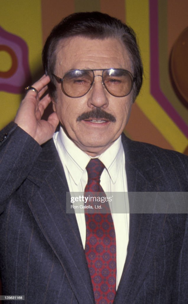 Gary Owens attends 25th Anniversary Party for 'LaughIn' on January 15 1993 at the Santa Monica Beach Hotel in Santa Monica California
