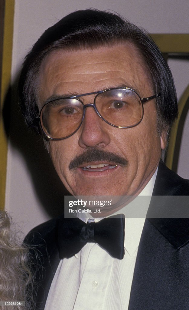 Gary Owens attends 28th Annual International Broadcasting Awards on March 15 1988 at the Century Plaza Hotel in Century City California