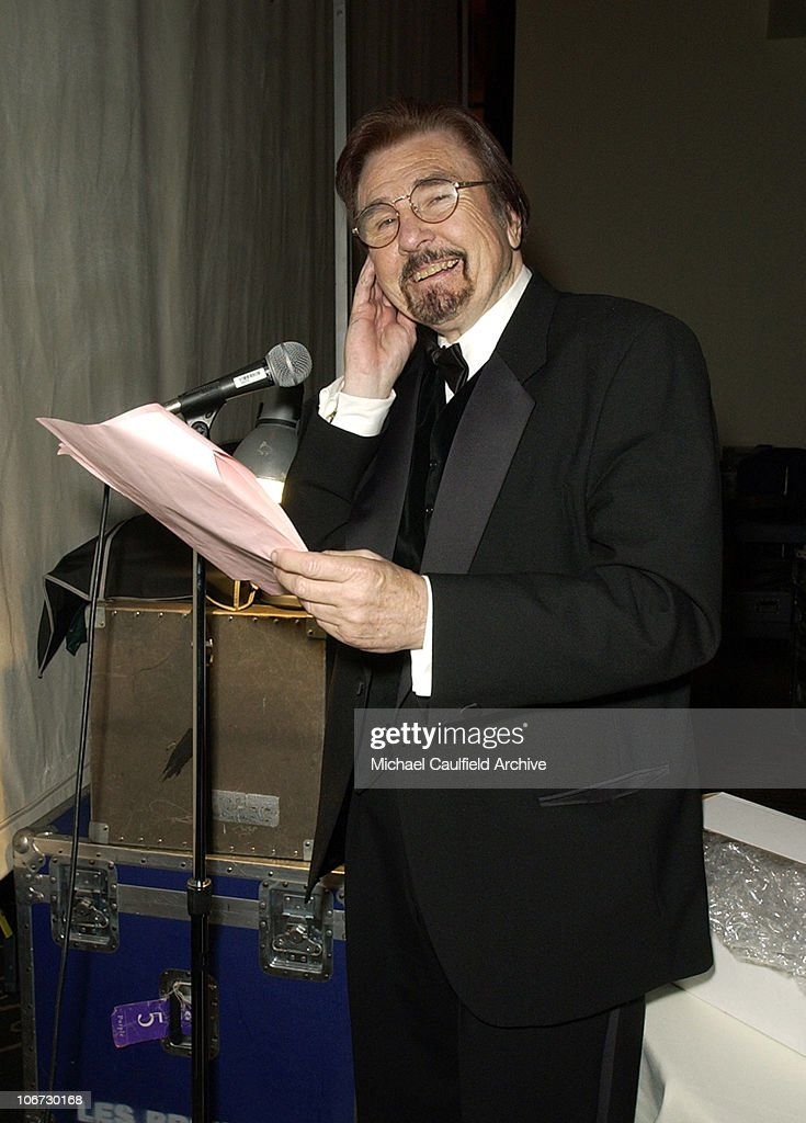 Gary Owens during Salute to Johnny Grant Happy 80th Birthday Staged by the Hollywood Entertainment Museum Inside at Kodak Theatre Grand Ballroom in...
