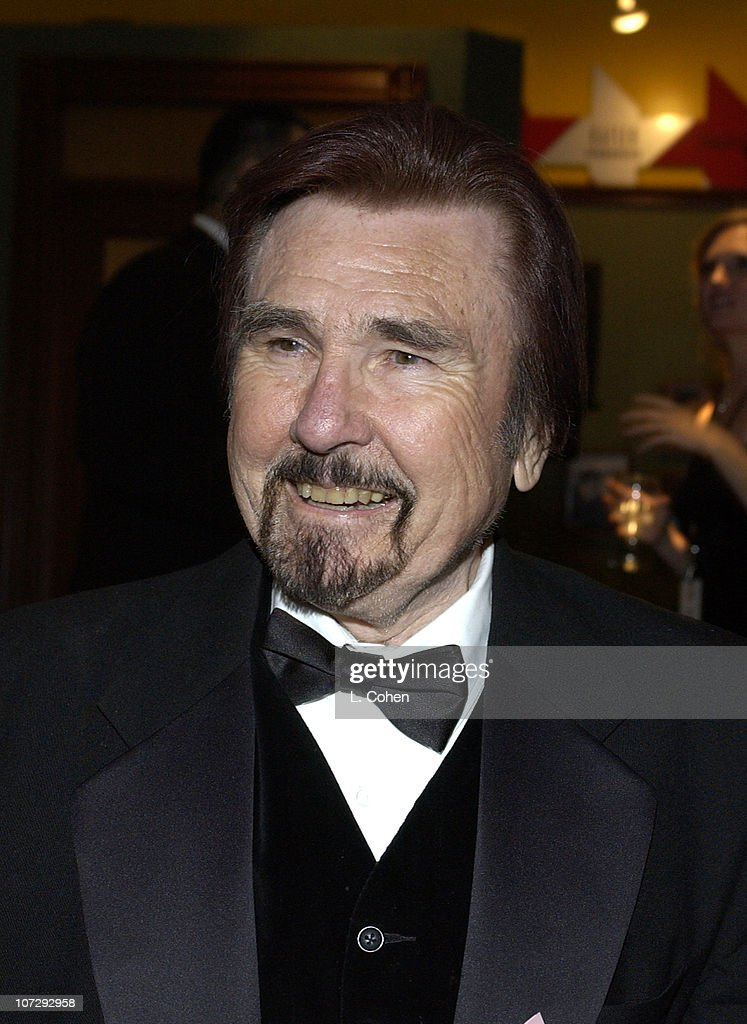 Gary Owens during Salute to Johnny Grant Happy 80th Birthday Staged by the Hollywood Entertainment Museum Cocktail Party at Hollywood Entertainment...