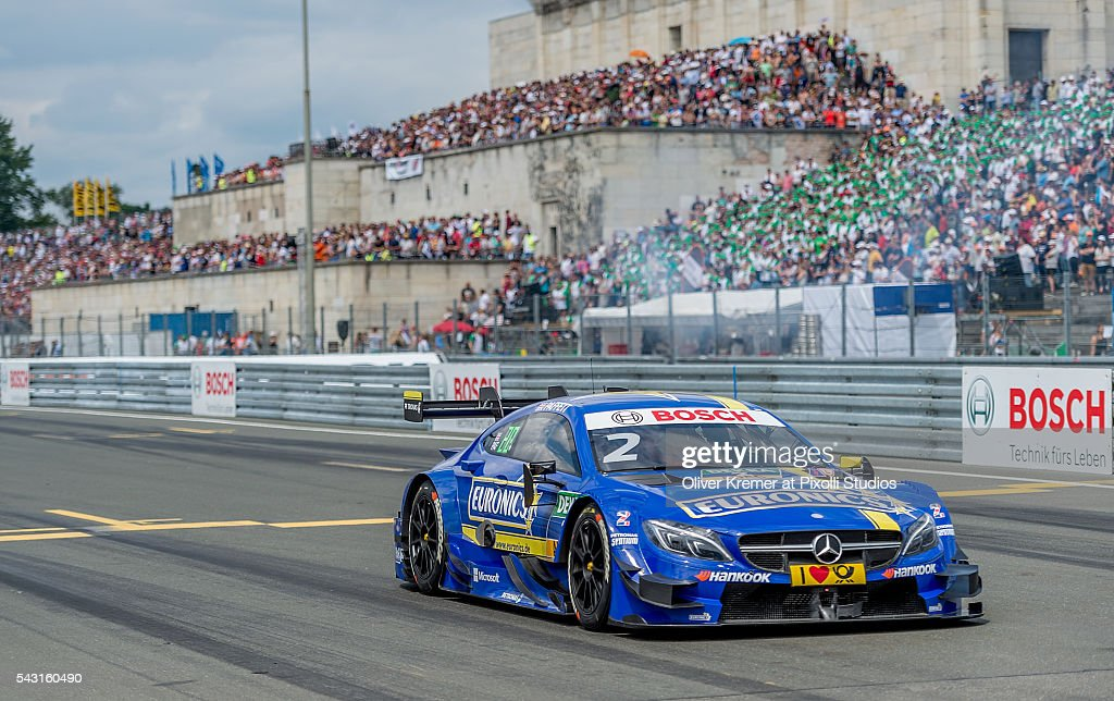 Gary Paffett (GBR) of Mercedes-AMG DTM Team Art qualifying for the German Touring Car Championship race at the Norisring during Day 3 of the 74. International ADAC Norisring Speedweekend on June 26, 2016 in Nuremberg, Germany.