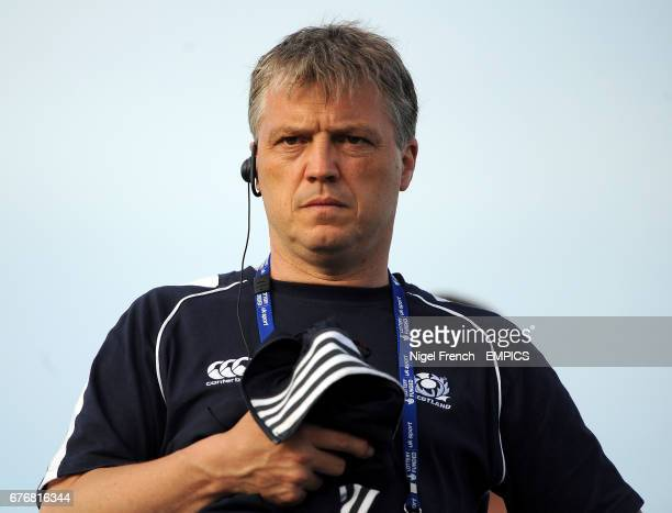 Gary Parker Scotland Head Coach
