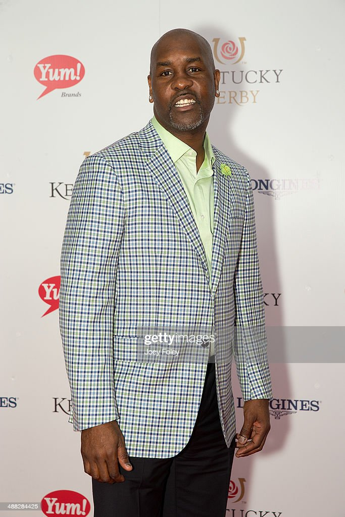 <a gi-track='captionPersonalityLinkClicked' href=/galleries/search?phrase=Gary+Payton&family=editorial&specificpeople=201500 ng-click='$event.stopPropagation()'>Gary Payton</a> attends the 140th Kentucky Derby at Churchill Downs on May 3, 2014 in Louisville, Kentucky.