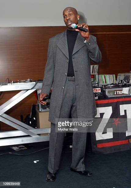 Gary Payton during GQ Magazine 2004 NBA All Star Party at Pacific Design Center in Los Angeles California United States