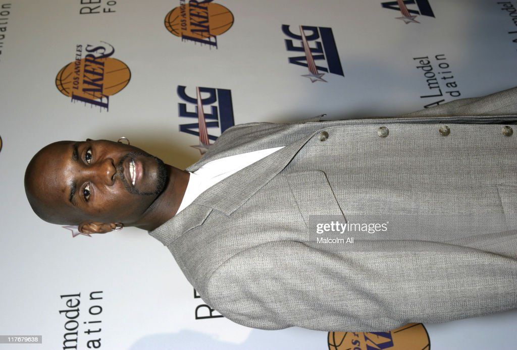 Gary Payton during Shaquille O'Neal Hosts Pre-Season Party to Benefit the Lakers Youth Foundation at The New Avalon in Hollywood, California, United States.