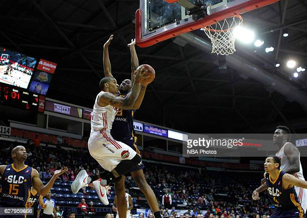 Gary Payton II of the Rio Grande Valley Vipers goes up for a lay up against the Salt Lake City Stars on December 5 2016 at the State Farm Arena in...