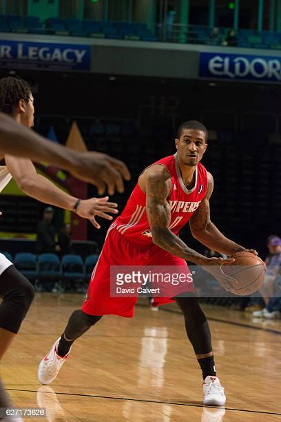 Gary Payton II of the Rio Grande Valley Vipers looks to pass against the Reno Bighorns at the Reno Events Center on December 1 2016 in Reno Nevada...