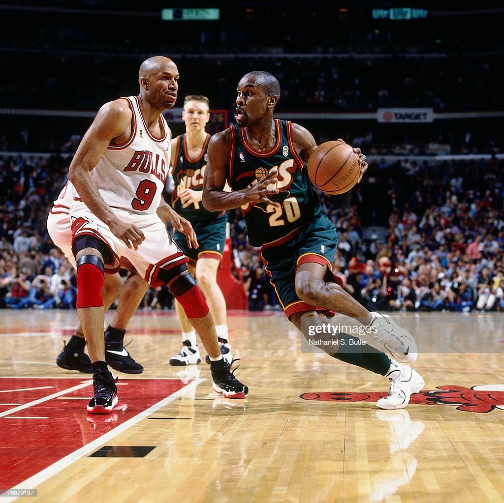 1996 NBA Finals Game 2 Seattle SuperSonics vs Chicago Bulls