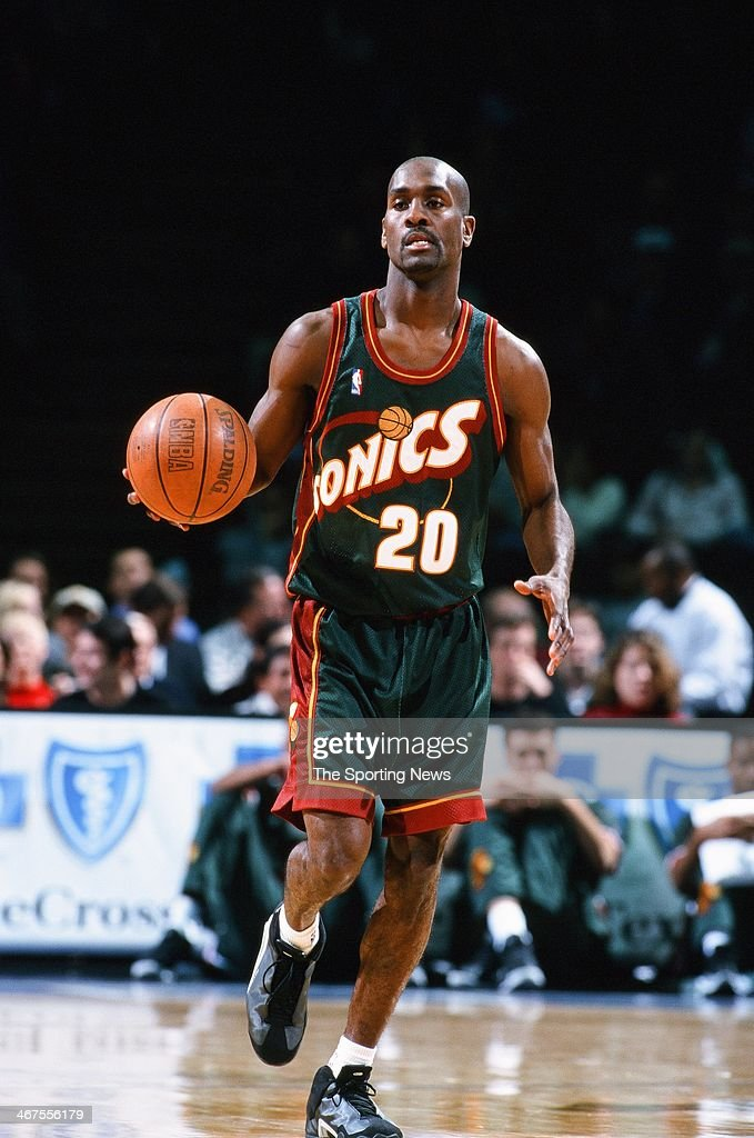 <a gi-track='captionPersonalityLinkClicked' href=/galleries/search?phrase=Gary+Payton&family=editorial&specificpeople=201500 ng-click='$event.stopPropagation()'>Gary Payton</a> of the Seattle Supersonics moves the ball during the game against the Houston Rockets on January 4, 2000 at Compaq Center in Houston, Texas.