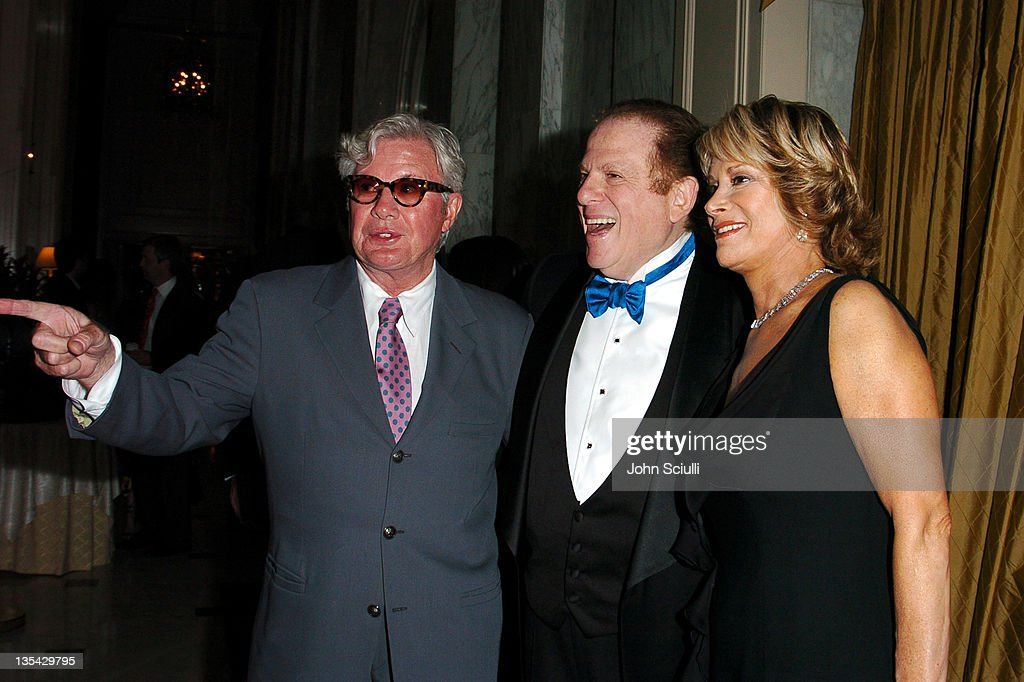 Gary Pudney, Arnold Kopelson and Anne Kopelson during The Larry King Cardiac Foundation Gala at The Regent Beverly Wilshire Hotel in Beverly Hills, California, United States.