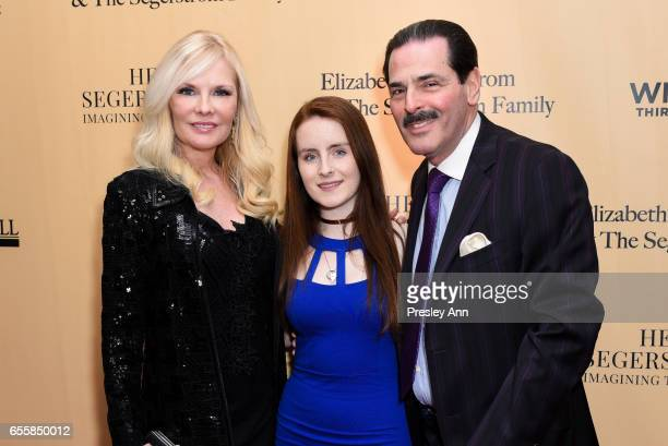 Gary Rein Morgan Rein and Colleen Rein attend the New York Premiere and Celebration of Documentary Film 'Henry T Segerstrom Imagining The Future' at...