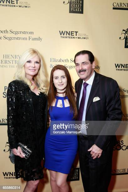 Gary Rein Morgan Rein Colleen Rein attended the New York Premiere and Celebration of Documentary Film 'Henry T Segerstrom Imagining The Future' at...