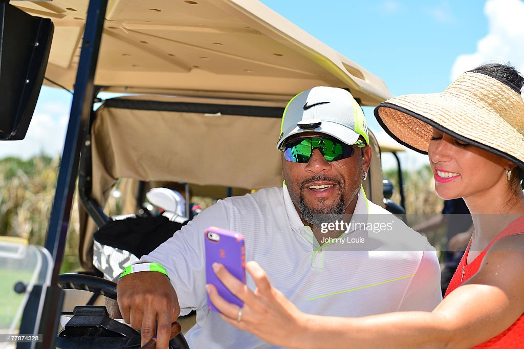 Gary Sheffield attends JEEP 11th Annual Celebrity Golf Tournament during The 11th Annual Irie Weekend at Miami Beach Golf Club on June 19, 2015 in Miami Beach, Florida.