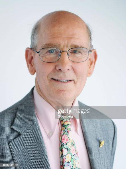 Gary Shilling president of the economic research firm A Gary Shilling Co stands for a portrait after an interview in New York US on Tuesday August 3...