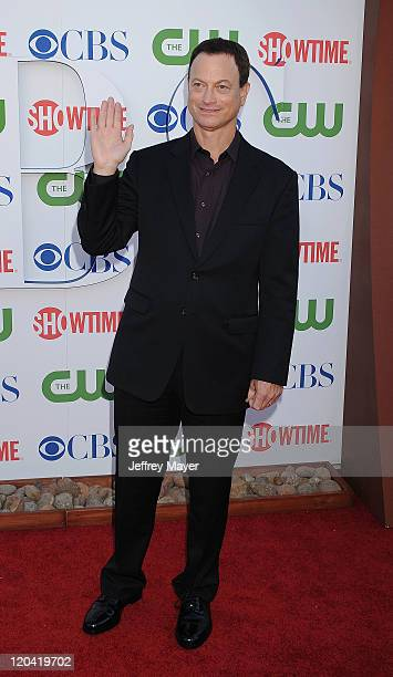 Gary Sinise arrives at the TCA Party for CBS The CW and Showtime held at The Pagoda on August 3 2011 in Beverly Hills California