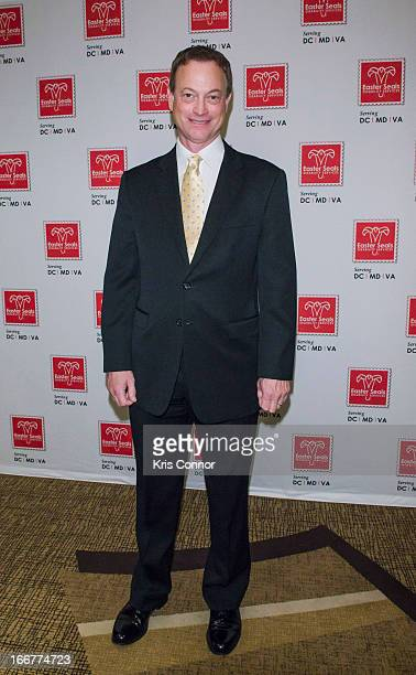 Gary Sinise attends the 2013 Easter Seals Advocacy Awards Dinner at the Grand Hyatt on April 16 2013 in Washington DC