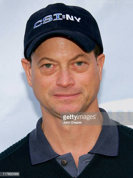 Gary Sinise during Golf Digest Celebrity Invitational to Benefit the Prostate Cancer Foundation at Riviera Country Club in Pacific Palisades...