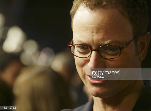 Gary Sinise during 'The Big Bounce' Los Angeles Premiere Red Carpet at Mann Village Westwood in Westwood California United States