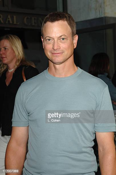 Gary Sinise of 'CSI New York' during CBS 2005 TCA Party Red Carpet at Hammer Museum in Los Angeles California United States