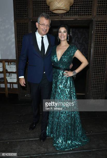 Gary Sinyor and Jasmine Hyde attend the afterparty for The Unseen Premiere at Jewel on November 14 2017 in London England