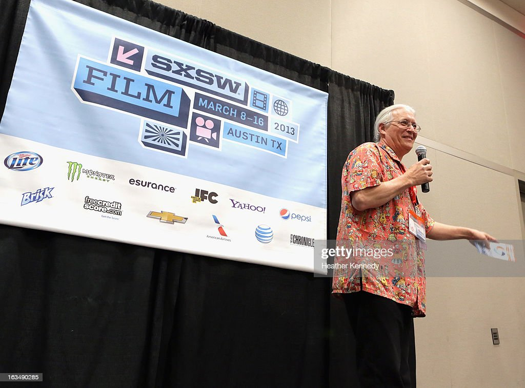Gary Sohmers speaks onstage at Startup Alley: Fastball Speed Pitches during the 2013 SXSW Music, Film + Interactive Festival at Austin Convention Center on March 10, 2013 in Austin, Texas.
