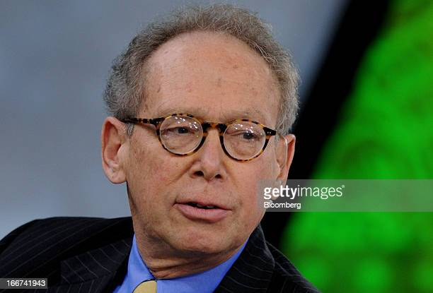 Gary Stern former chief executive officer of the Federal Reserve Bank of Minneapolis speaks during a Bloomberg Television interview in New York US on...