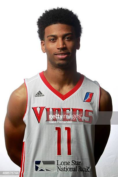 Gary Talton of the Rio Grande Valley Vipers poses for a photos during media day on Nov 6 2014 State Farm Arena in Hidalgo Texas NOTE TO USER User...