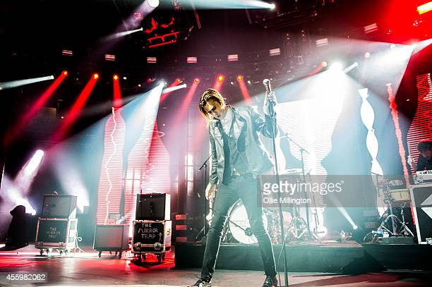 Gary The Panther Moore of The Mirror Trap performs onstage on the 23rd night of the 2014 iTunes Festival at The Roundhouse on September 23 2014 in...